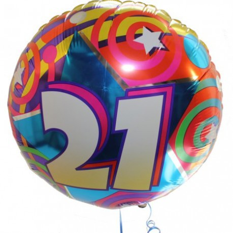 Birthday Balloon only supplied with flowers